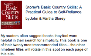 Basic Country Skills front cover photo