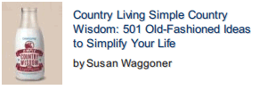 Simple Country Wisdom front cover photo