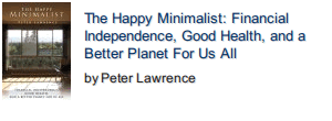 The Happy Minimalist front cover photo