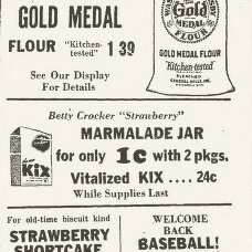 Kix cereal newspaper ad 4/16/1941